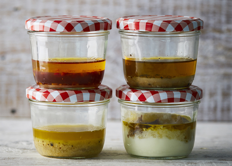 4 Jam Jar Salad Dressings To Transform Your Office Lunches