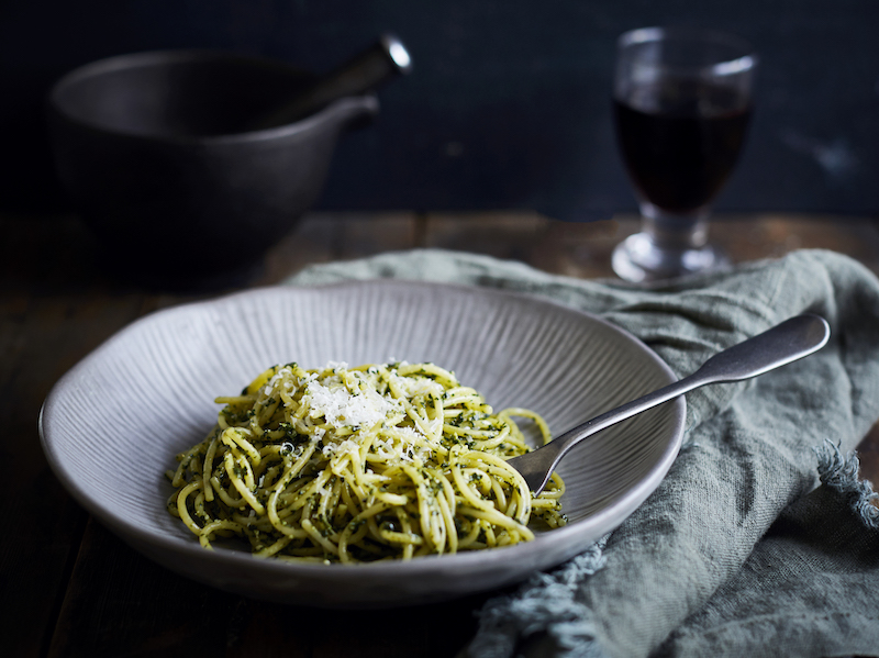 Black-garlic-pasta recipe