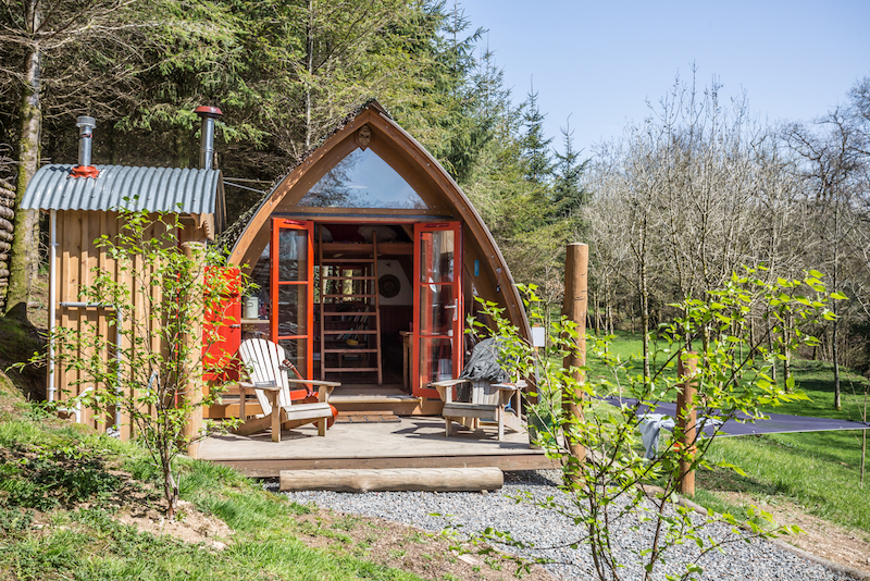 The Devon Den glamping eco holiday