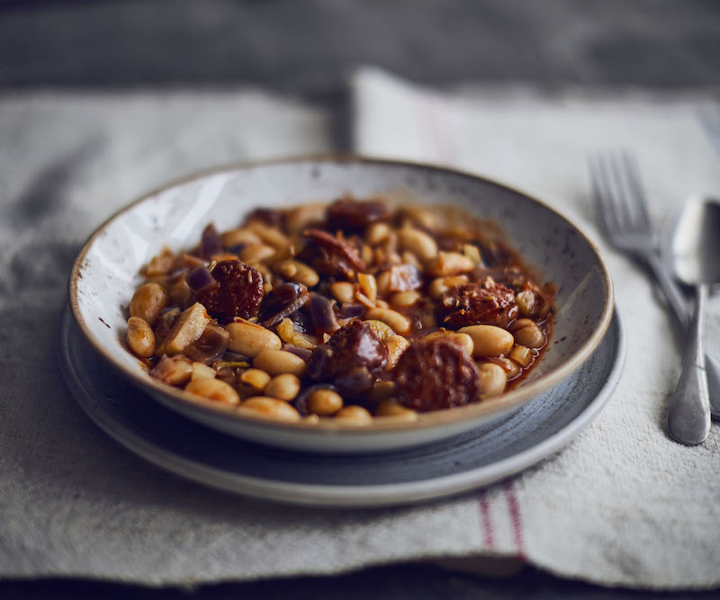 chorizo bean stew recipe