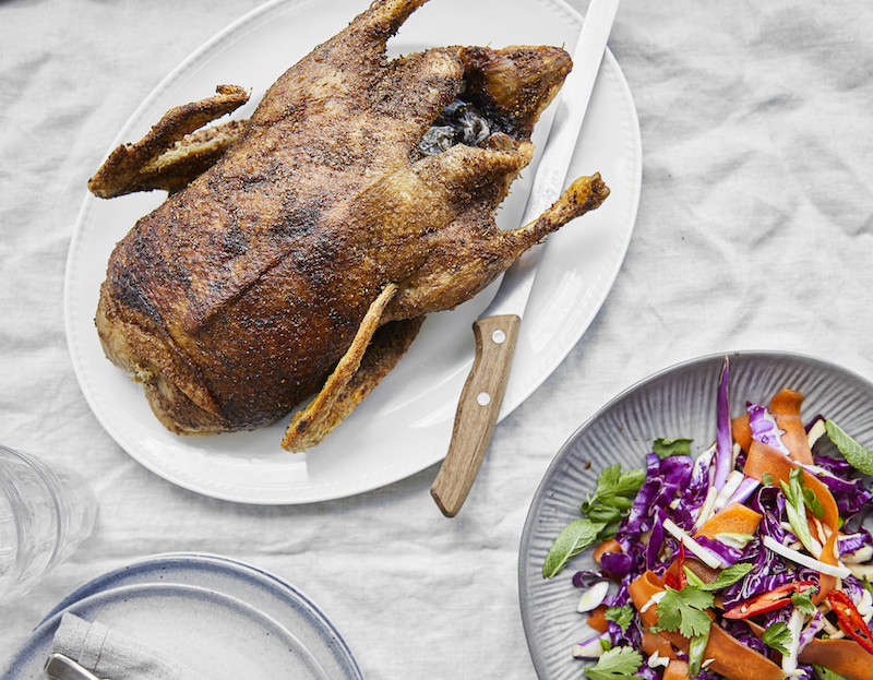 whole roast duck recipe