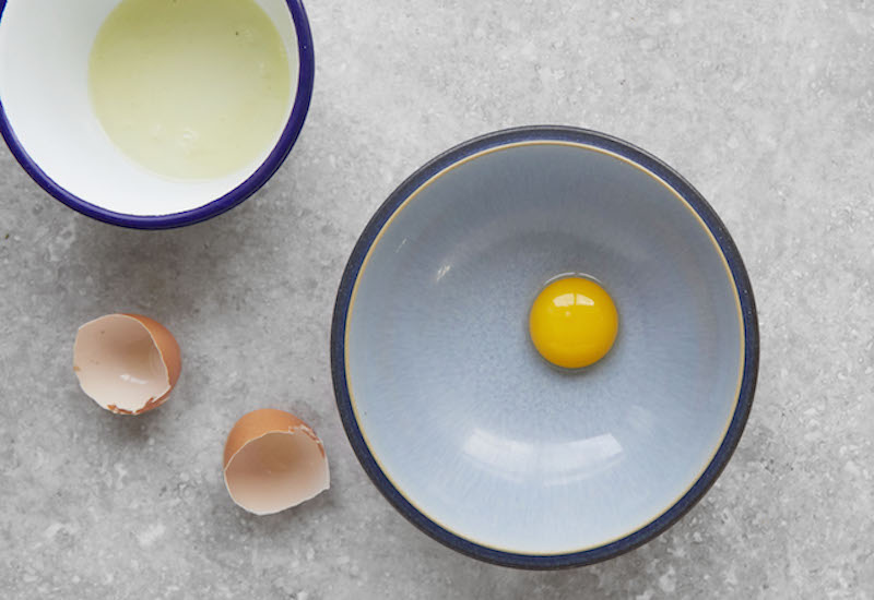 how to use up egg yolks egg white recipes