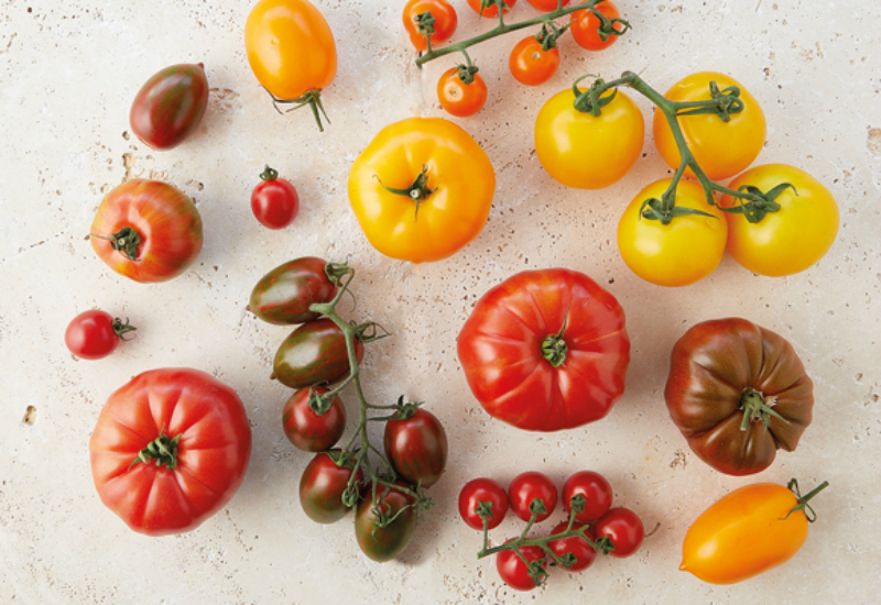 Heirloom tomatoes at Farmdrop - Which British Fruit And Vegetables Are In Season In July?