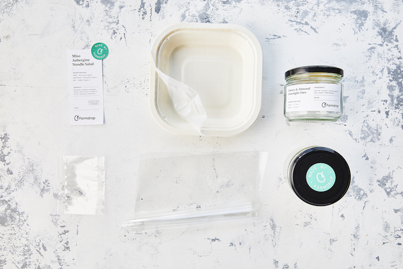 plastic free packaging ready meals