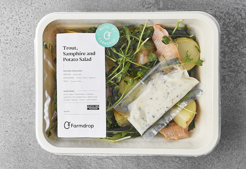 made by farmdrop plastic free packaging