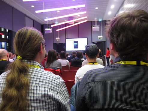 Londroid at the BBC small
