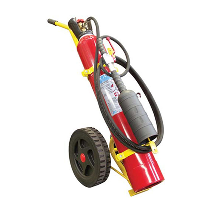 An image of 10KG CO2 Wheeled Fire Extinguisher (M.E.D Approved)