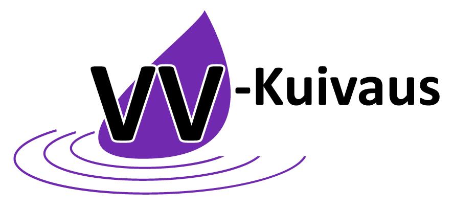 Logo: VV-Kuivaus Oy