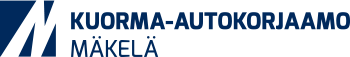 Logo: Kuorma-autokorjaamo Mäkelä