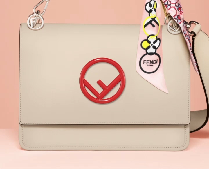 Get the Customisable Fendi Kan I F Bag Exclusively at Farfetch e3e108c9f4ef5