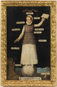 S XVI - La donselle virtuosa