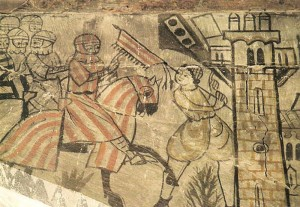 Jaume I el conqueridor amb gualdrapa