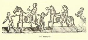 Les trampes (gravat Amades)