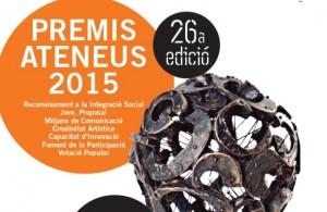 Cartell Premis Ateneus 2015