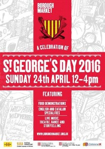 Cartell Saint George's day