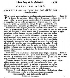 De la caza de aves - Secretos de Agricultura...1722 (editada)