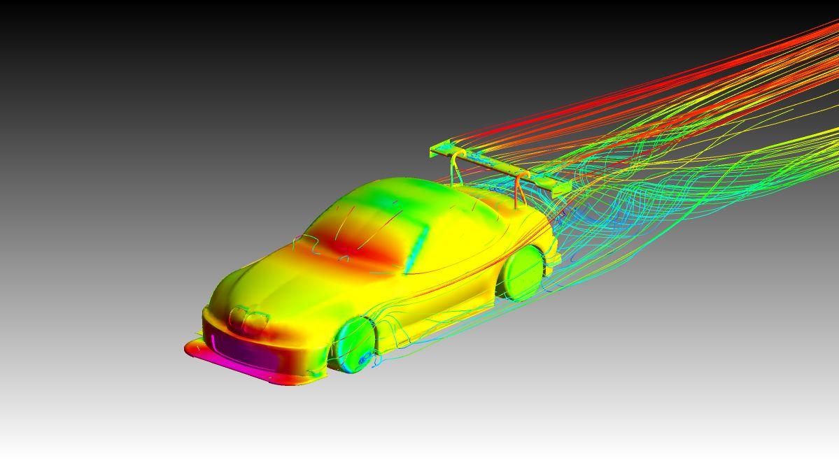 BMW Z3 simulation