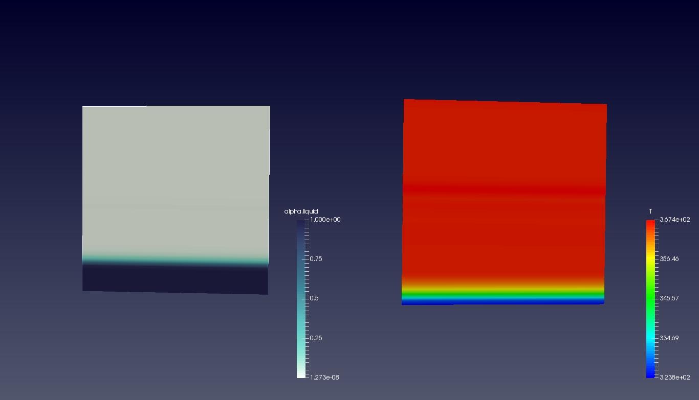 Condensating Vessel Simulation