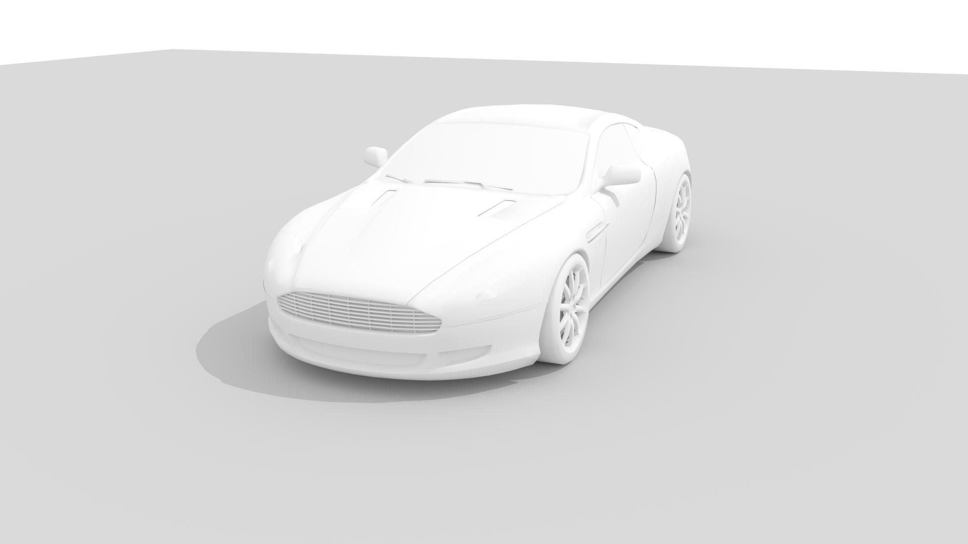Aston Martin Db9 Cad 3d Cad Model Library Fetchcfd