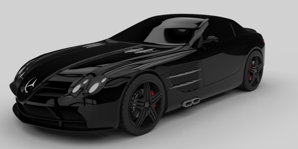 Mc Laren-Mercedes SLR by Milad Bakhtiari
