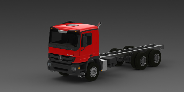 Mercedes Benz Actros 3341 Chassis by KRISHNAPRASAD PERINGETH