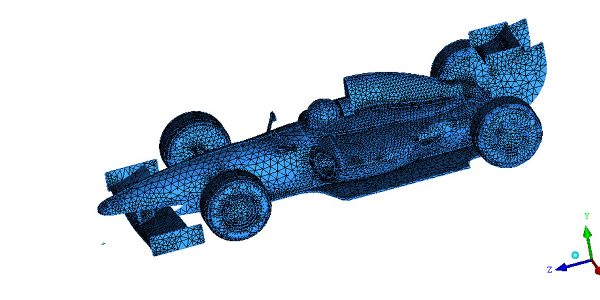 F1 Mesh for Simulation