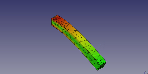 Cantilever Beam Static Mechanical Analysis