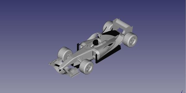 Aston Martin GWPS CAD model