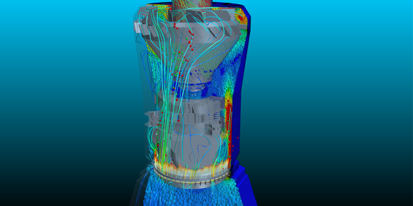 CFD of a coal pulverizer by Coal Milling Projects (Pty) Ltd.