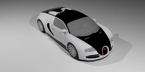 Bugatti Veyron 2008 3D Model
