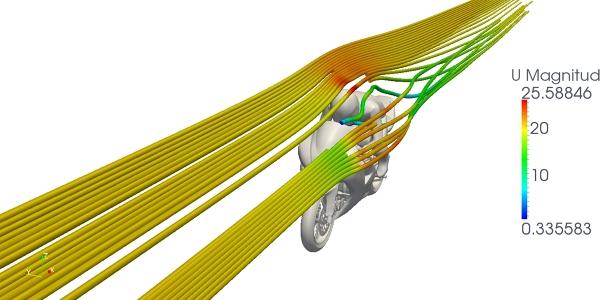 Motorbike simulation
