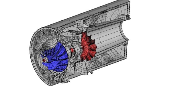 Jet Engine Mesh