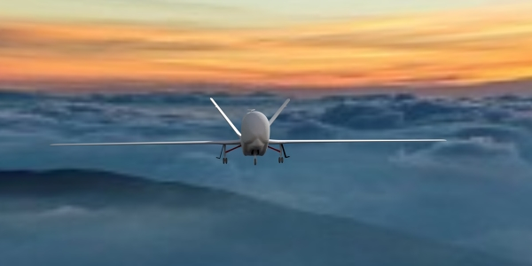 Global Hawk UAV 3D Model