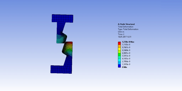 Finite Element Analysis of a Snap Lock