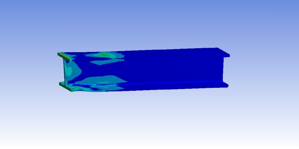 I-Beam: Non Linear Plastic Deformation