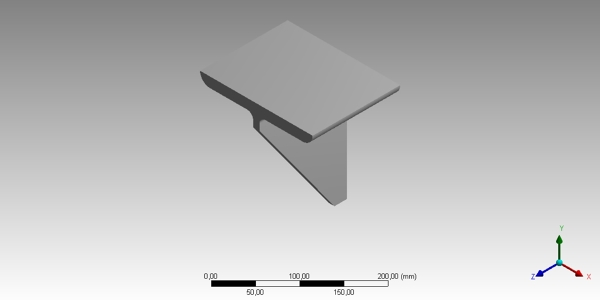 Beam bracket CAD