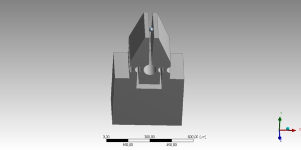 Microgripper CAD Model