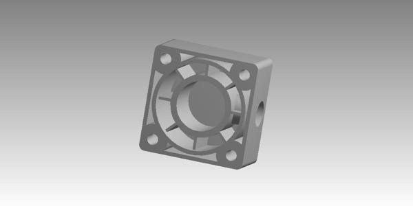 Pressure Cylinder Cover CAD