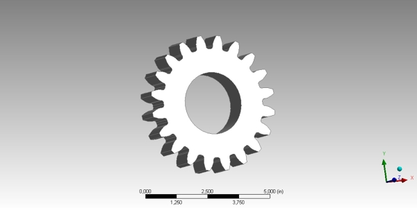 Spur Gear CAD model