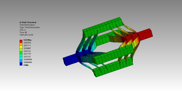 FEA Translational Joint with ANSYS Mechanical