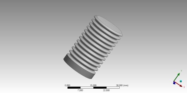 Bolt CAD Model