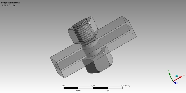 Nut and Bolt CAD