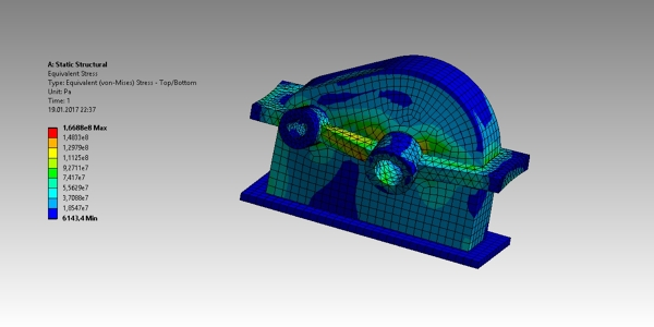 Finite Element Analysis Gearbox