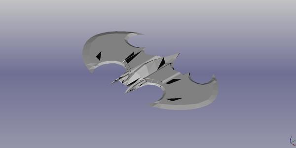 Batwing 3D Model