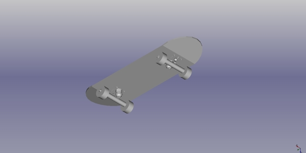 Skateboard CAD
