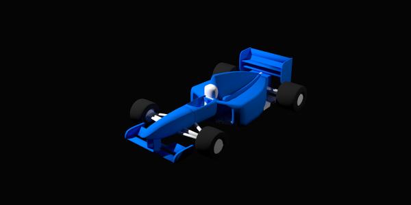 Formula 1 CAD Model