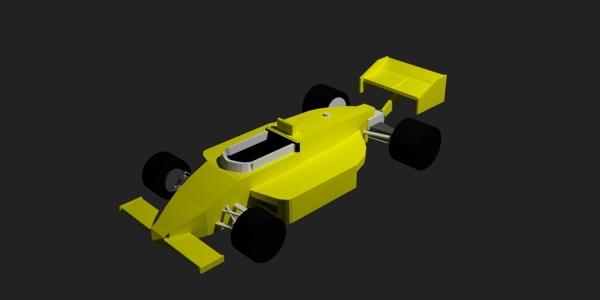 Indycar 3D Model