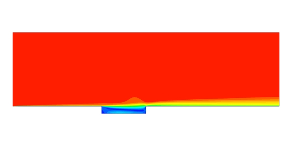 Cavity Flow Simulation