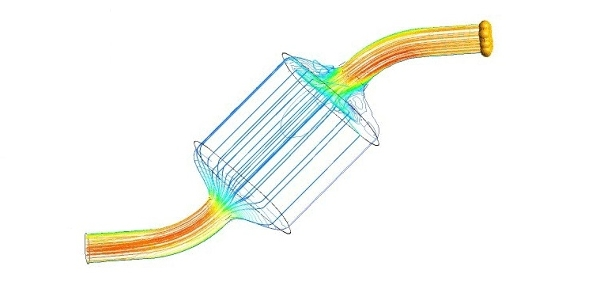 Catalytic Converter Simulation