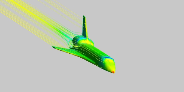 Space Shuttle Simulation with ANSYS CFX